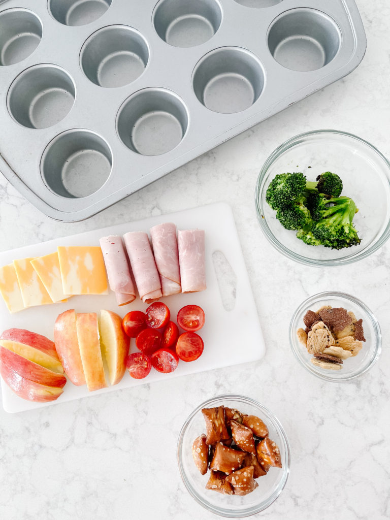 Muffin Pan Lunches {kids and toddlers}